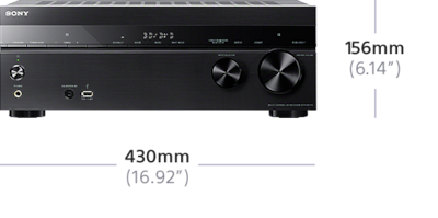 Picture of 7.2ch Home Theater AV Receiver | STR-DH770