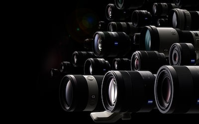 image of A-mount lenses