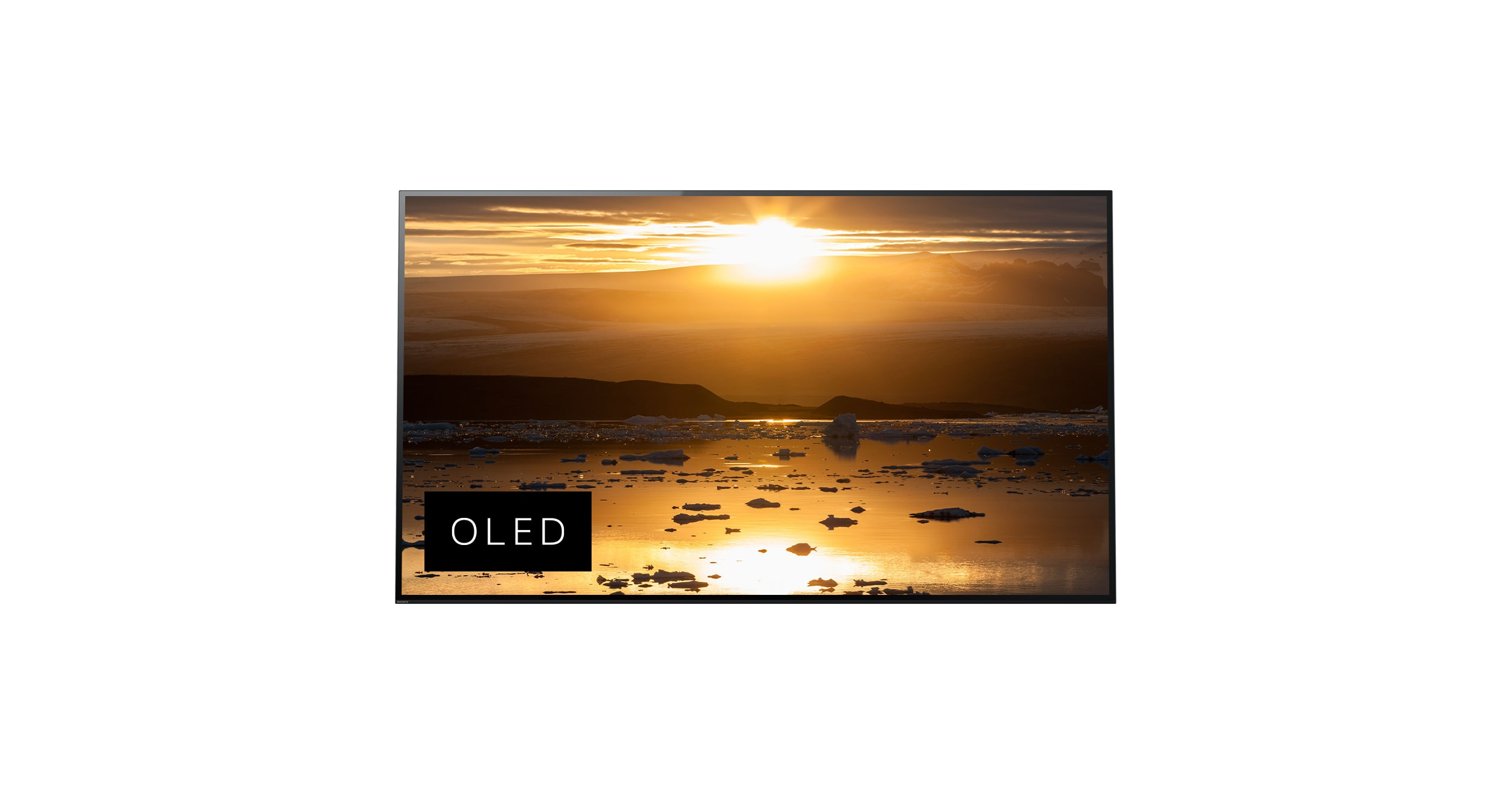 Sony A1E 4K HDR OLED TV with Acoustic Surface™
