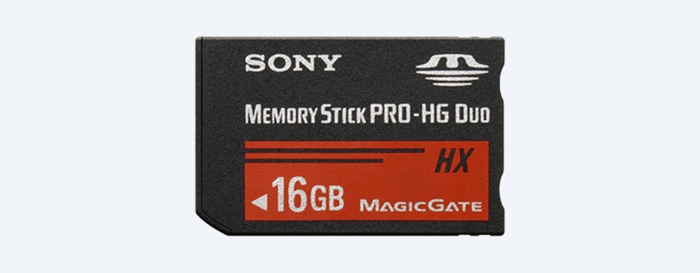 Images of Memory Stick PRO-HG Duo HX