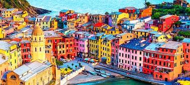 صورة مباني تعرض تفاصيل صورة بدقة 4K مع أكثر من مليار لون