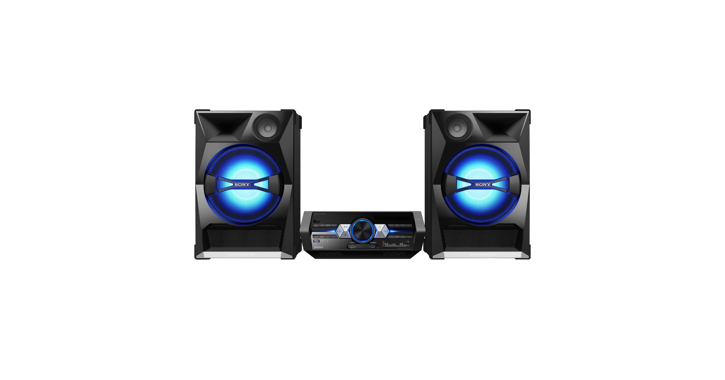 High-Power Home Audio System with BLUETOOTH® technology | SHAKE-33 ...