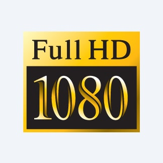 1080 Full HD footage