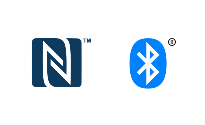NFC & BLUETOOTH® Logo