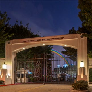 Sony Pictures Entertainment entrance gate