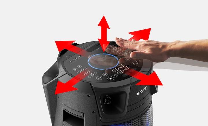 Hand hitting Gesture Control