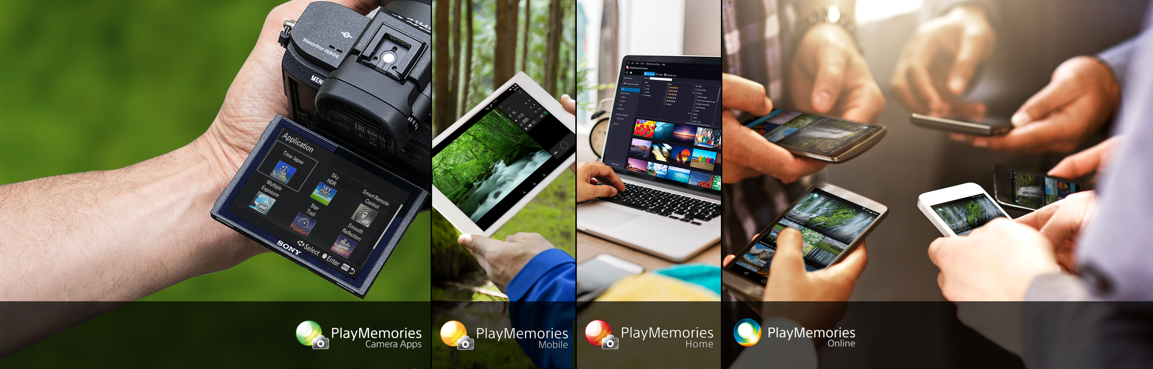 PlayMemories: Camera Apps, Mobile, Home, Online