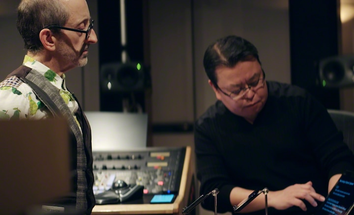 Mark Wilder and Kenichi Matsumoto collaborating on Xperia sound quality