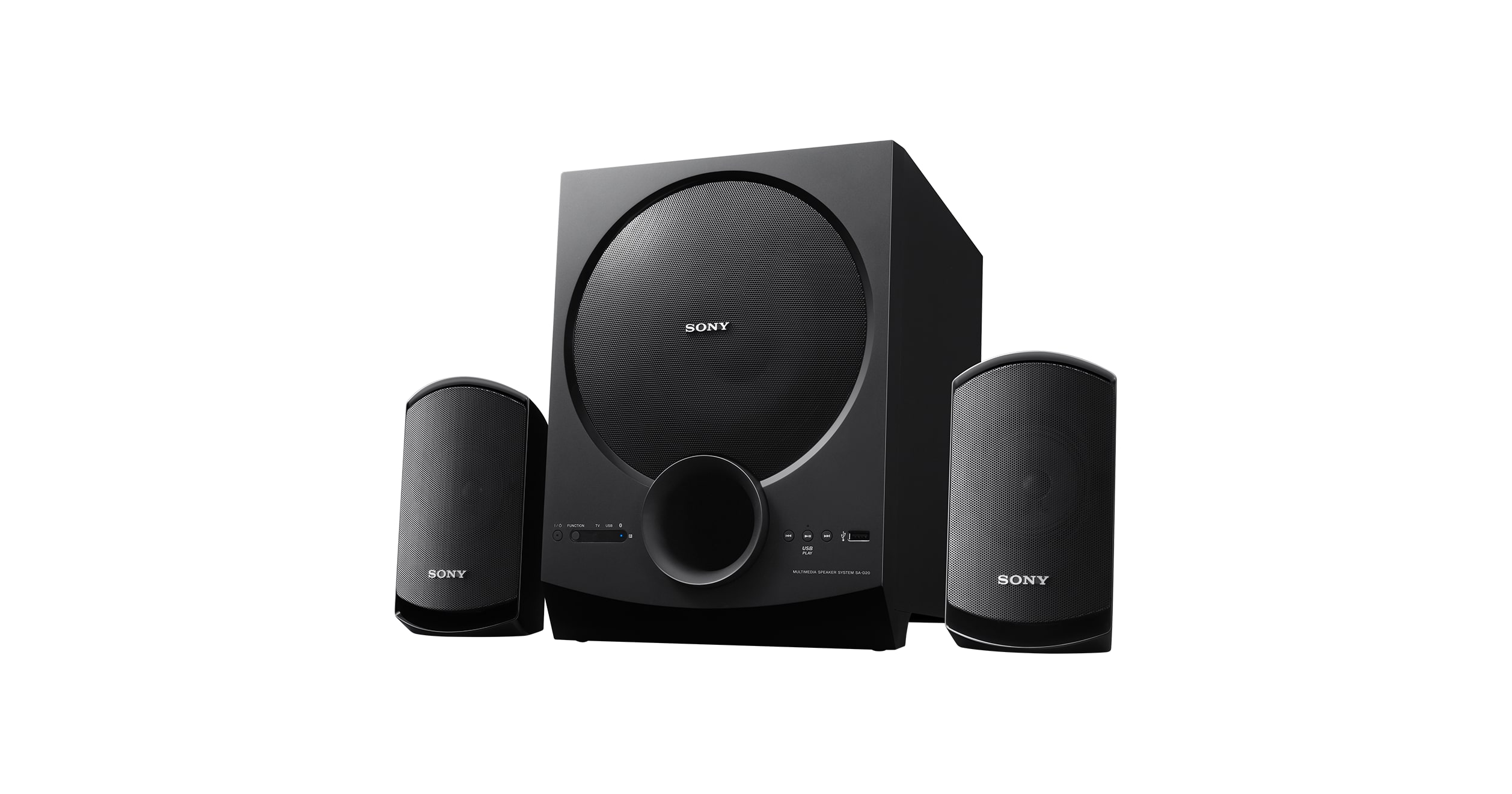 2 1ch Home Theatre Satellite Speakers Sa D20 Sony Tz