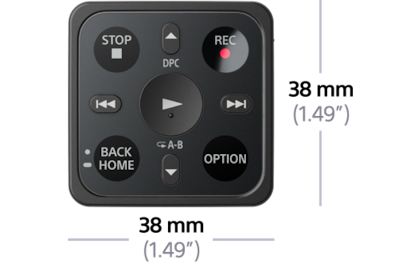 Picture of Digital Voice Recorder with Remote