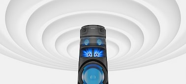 Image of V83D high-power audio system with BLUETOOTH® technology