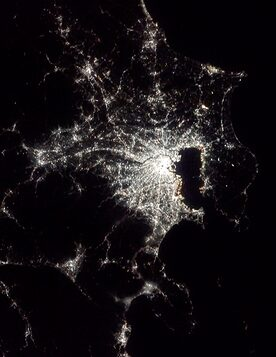 Japan by night