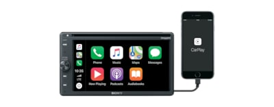 Images of 6.4 inch (16.3 cm) Apple CarPlay/Android Auto™ DVD Receiver