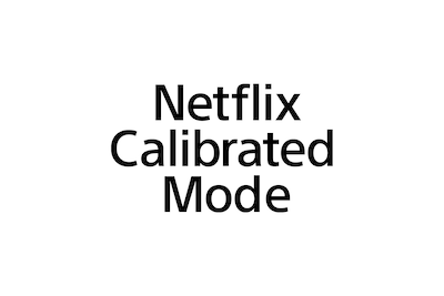 Logo de Netflix Calibrated Mode