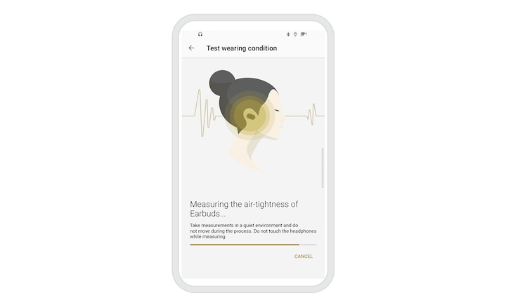 Image showing Sony | Headphones Connect app user interface