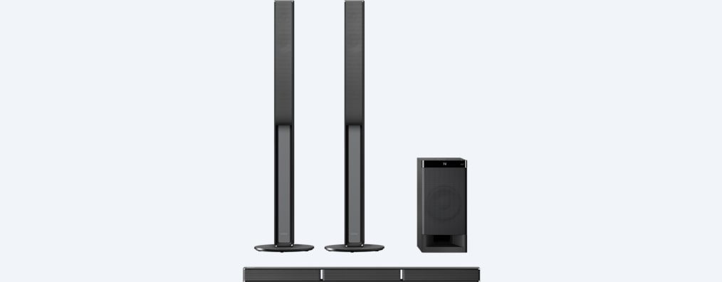 Images of 5.1ch Home Cinema Soundbar System
