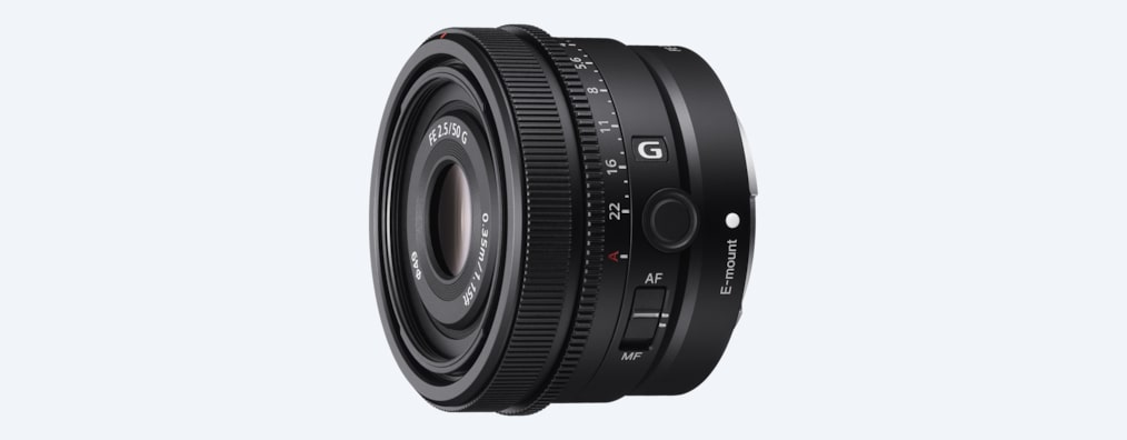 Lens front view