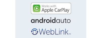 Apple CarPlay, Android Auto et WebLink™