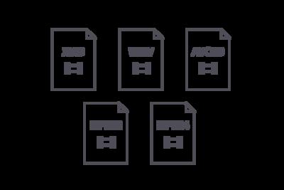 UBP-X700 compatible video formats