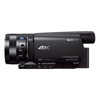 4k Professional Digital Camcorder Ax100 Sony Us