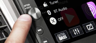 """Picture of 6.4"""" (16.3 cm) Media receiver with BLUETOOTH® Wireless Technology"""