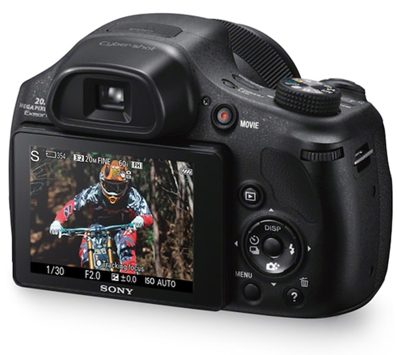 Camera with 50x Optical Zoom & 720p Movies | DSC-HX300 ...