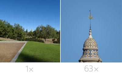 63x optical zoom
