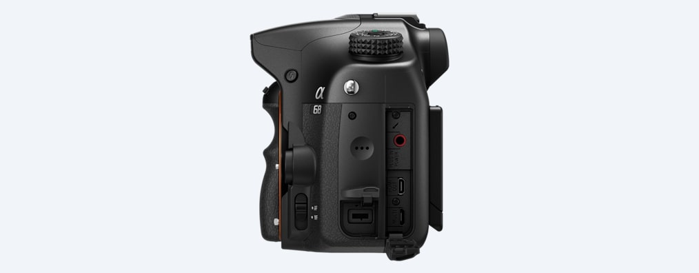 Images of α68 A-mount Camera with APS-C sensor