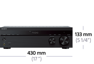 Picture of Stereo receiver with Phono input and Bluetooth® connectivity