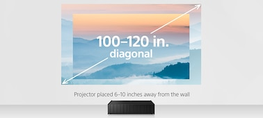 Picture of Ultra-Short Throw 4K HDR Home Theater Projector