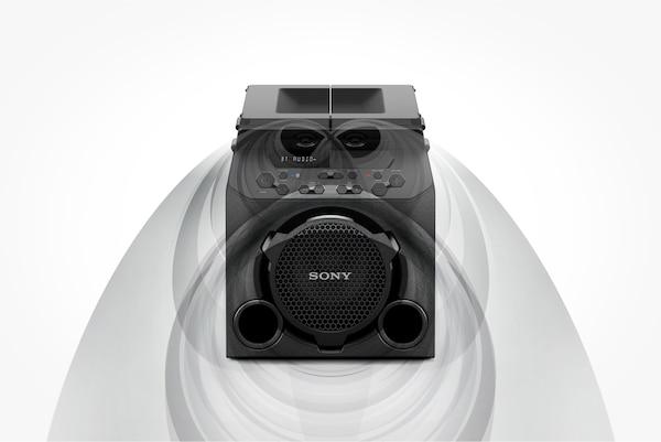 GTK-PG10 مع ألواح علوية مغلقة لتوفير صوت أمامي