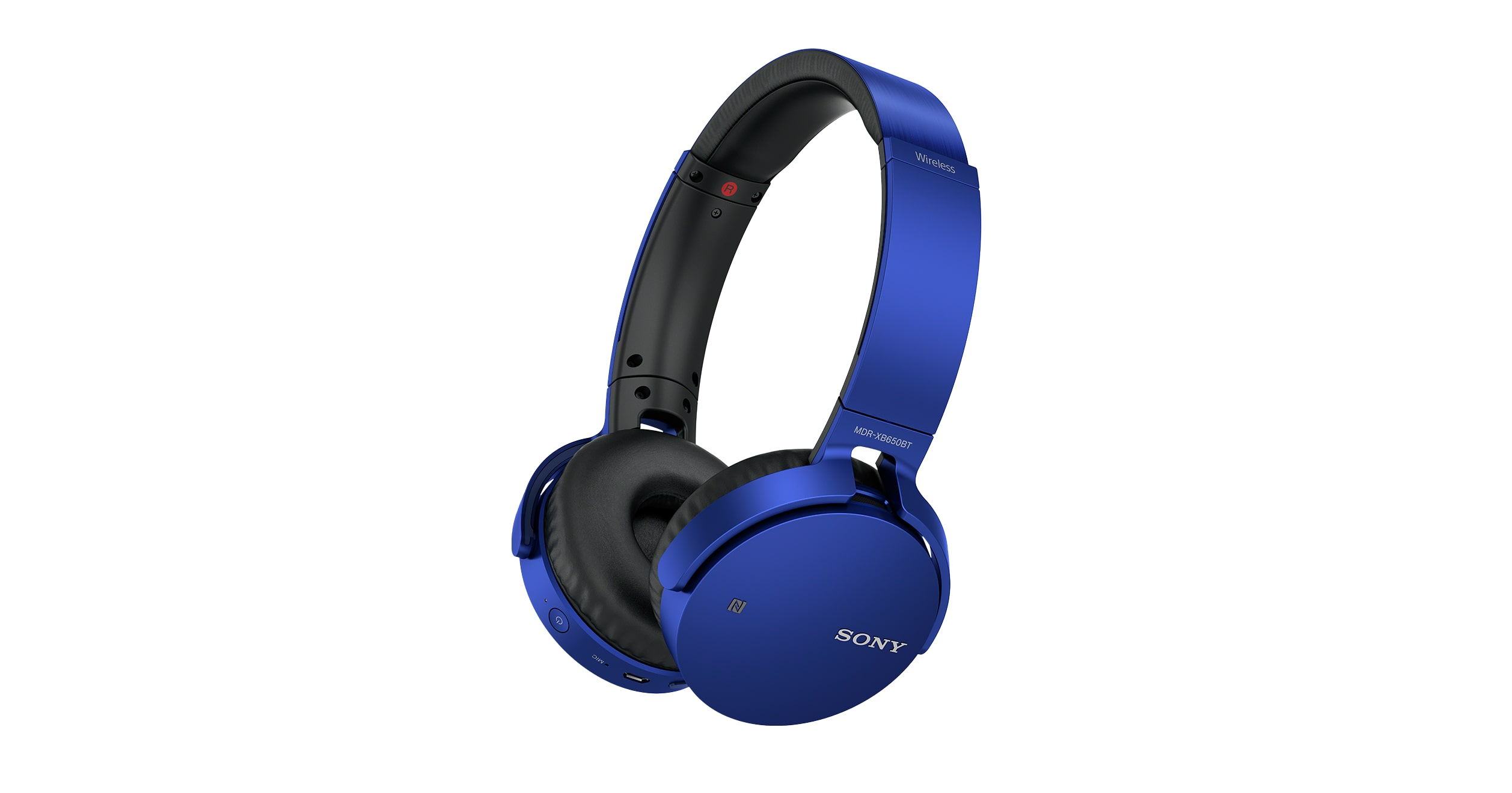 8bfaf840bb4 Wireless Deep Bass Headphones with Bluetooth | MDR-XB650BT | Sony US