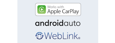 Apple CarPlay, Android Auto and WebLink®