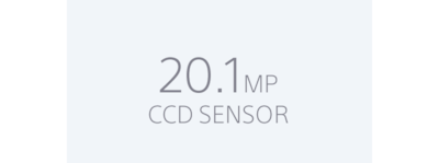 Super HAD CCD 20.1MP sensor