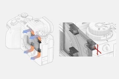 Sony A1配備全新機身散熱設計