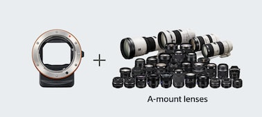 Picture of a6300 E-mount camera with APS-C Sensor