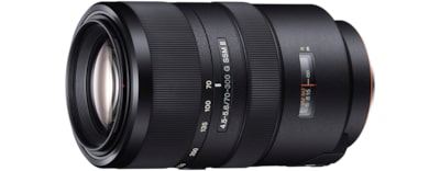 Images de Zoom Sony G 70–300 mm F4.5–5.6 SSM II