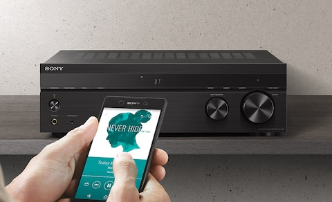 Sony Stereo Receiver Phono Input and Bluetooth® Connectivity | STR-DH190