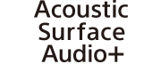 شعار Acoustic Surface Audio+‎