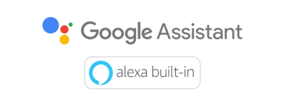 Google Assistant & Alexa built-in logo