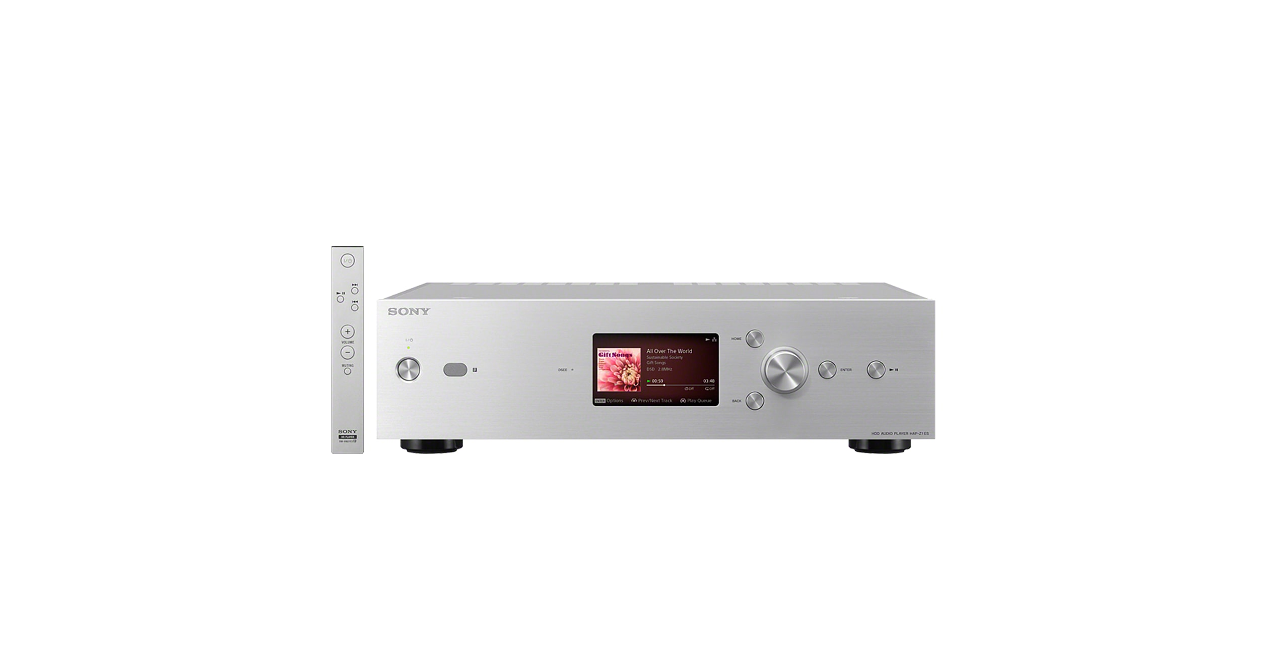 High Resolution Audio Hdd Player Hap Z1es Sony Us Enhancement For Analog Amplifier