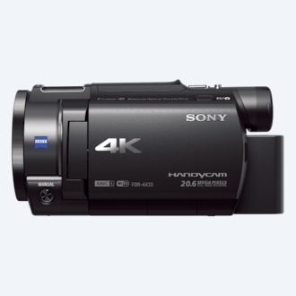 Picture of AX33 4K Handycam® with Exmor R® CMOS sensor