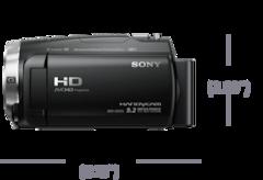 Exmor R ™ CMOS sensörlü CX675 Handycam® resmi