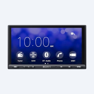 "Picture of 6.95"" (17.6-cm) CarPlay/Android Auto Media Receiver with BLUETOOTH®"