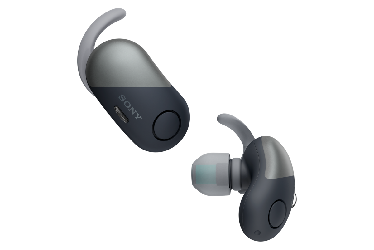 Noise Canceling Truly Wireless Bluetooth Earbuds Wf Sp700n Sony Us