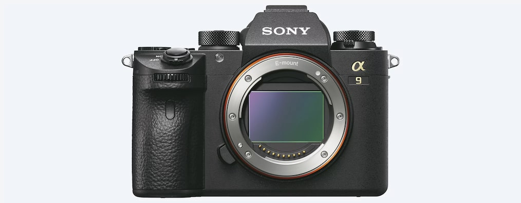 Sony α9 featuring full-frame stacked CMOS sensor