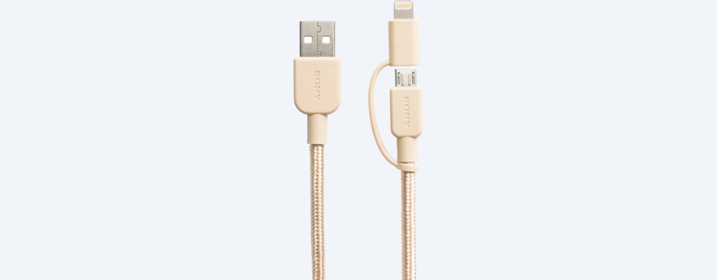 Images of Premium 2-in-1 Lightning and Micro USB cable