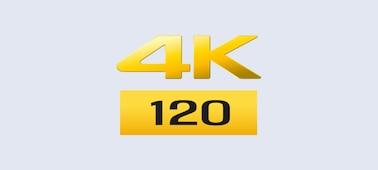 4K/120fps logo