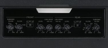Picture of Channel Stereo Amplifier