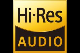 High-Resolution Audio logo